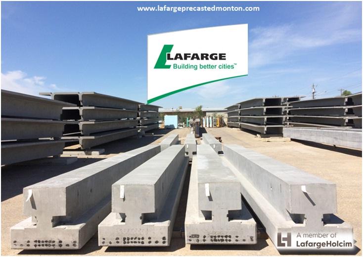Precast Concrete Beams – Lafarge Precast Edmonton Alberta