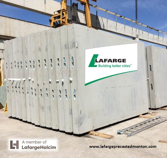 Precast Concrete Wall Panels Attachment : Precast concrete wall panels lafarge edmonton