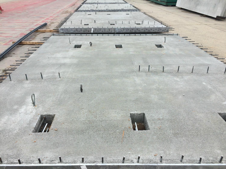 Precast Concrete Deck Slab By Lafarge Edmonton