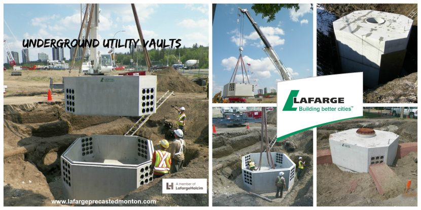 Precast Concrete Utility Vault Edmonton – Lafarge Precast Edmonton