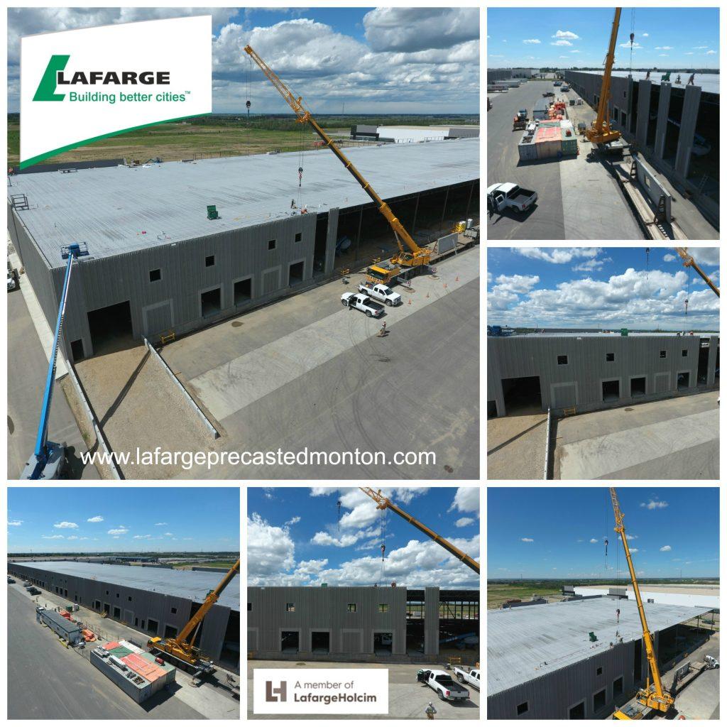 Precast Concrete Installation Alberta Lafarge Precast