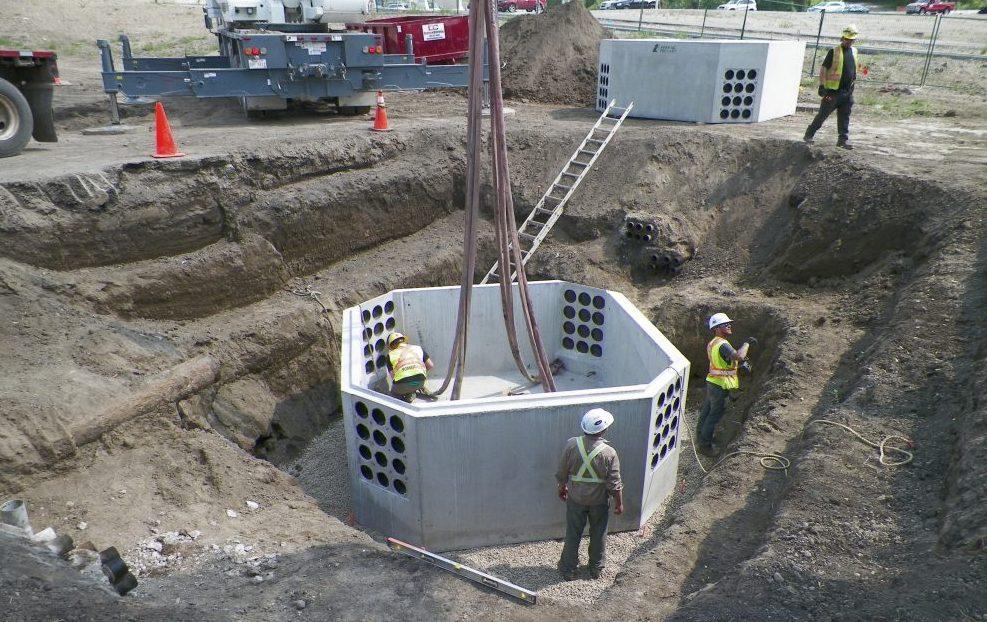 Concrete Utility Vault 1400 – Lafarge Precast Edmonton Alberta