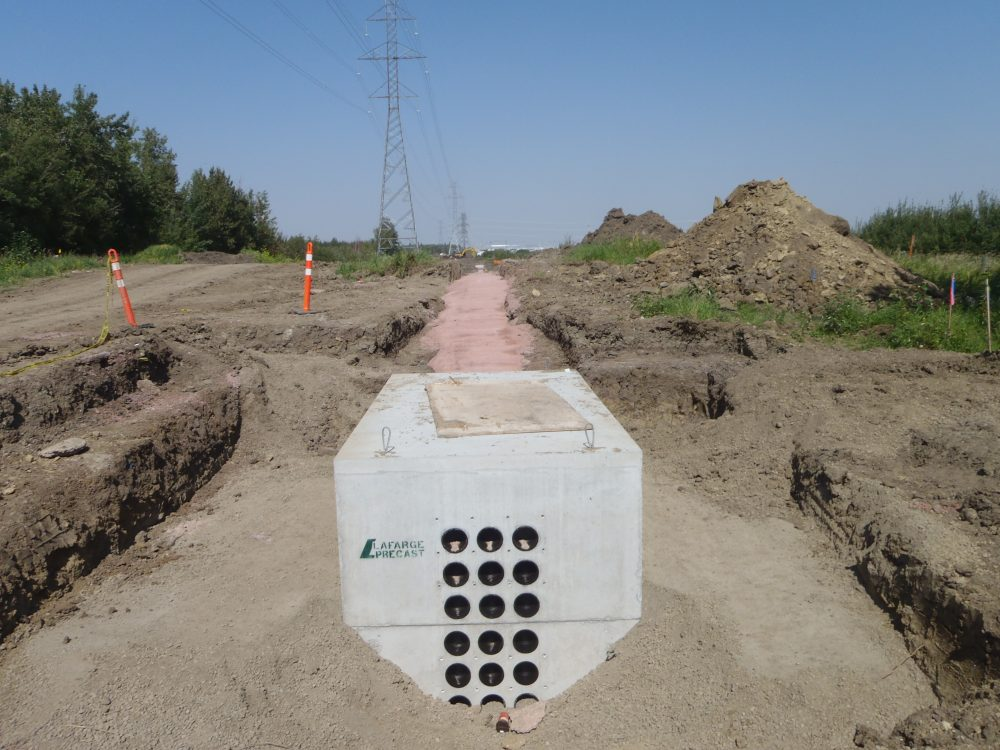 Concrete Utility Vault 1140 – Lafarge Precast Edmonton Alberta