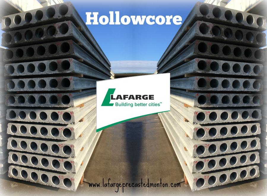 Hollow Core Precast Concrete : Hollow core planks western canada lafarge precast