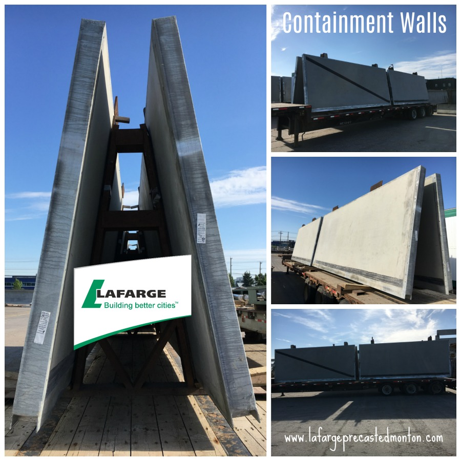 Concrete Dike Wall Design : Precast dike walls alberta lafarge edmonton