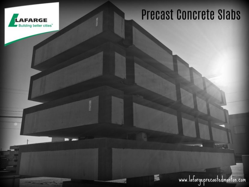 Precast Concrete Foundation Slabs – Lafarge Precast Edmonton