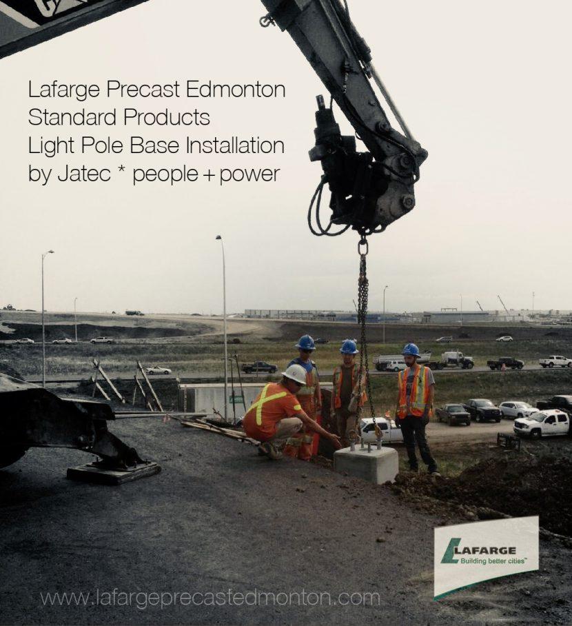 Lafarge Concrete Products – Light Pole Bases – Lafarge